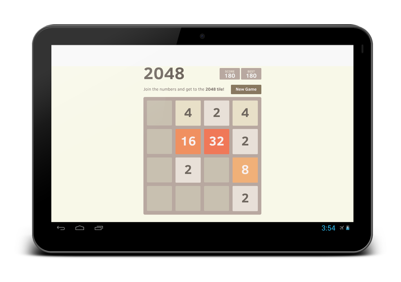 2048 Simple Puzzle - screenshot