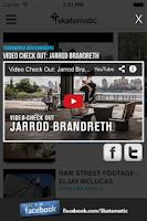 Screenshot of Skatematic Skateboard Videos