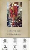 Screenshot of ROMEO AND JULIET,ShakespeareEN
