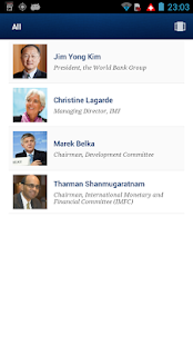 IMF/World Bank Spring Meetings - screenshot thumbnail