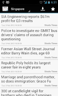 Singapore News - screenshot thumbnail