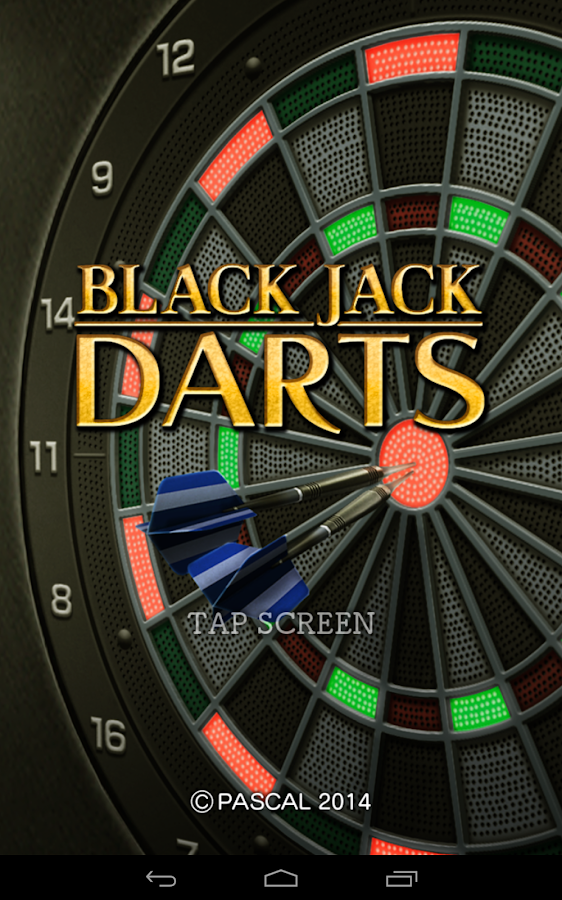 Black jack Darts- screenshot