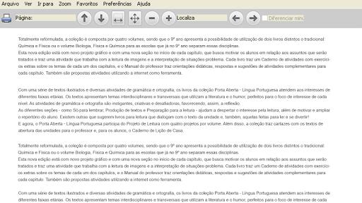 Leitor FTD de PDFs