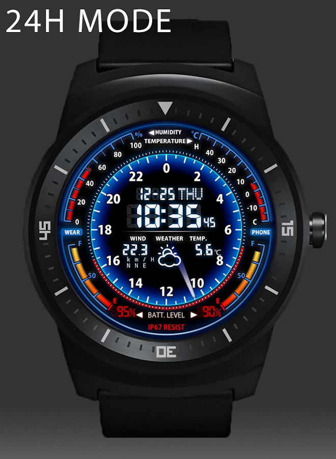 V05 WatchFace for Android Wear