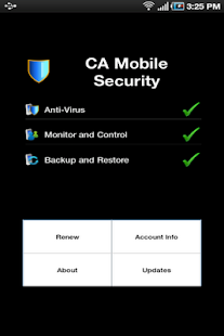 CA Mobile Security - screenshot thumbnail