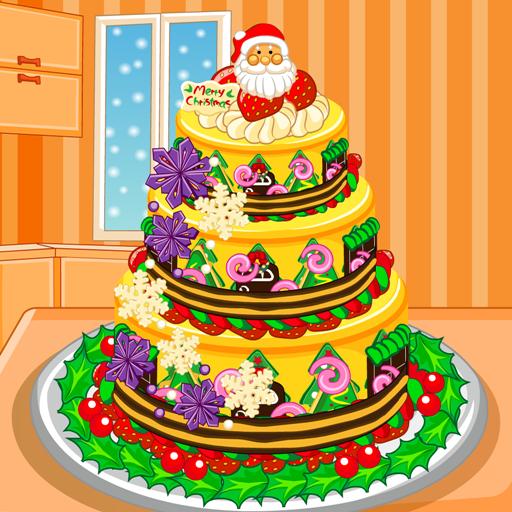 装扮圣诞节三层蛋糕 休閒 App Store-愛順發玩APP