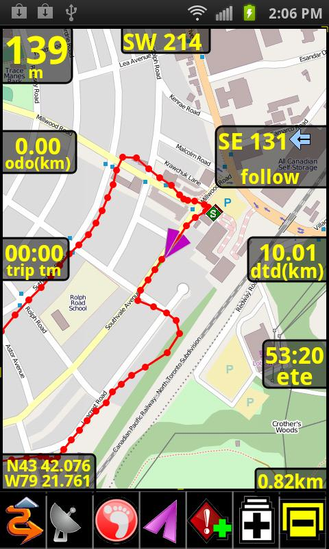 PathAway GPS Lite Edition - screenshot