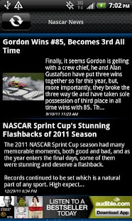 Nascar News - screenshot thumbnail