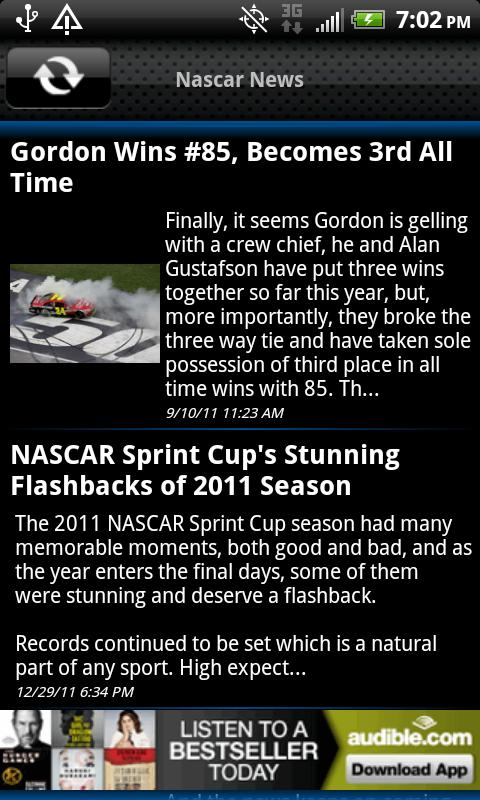 Nascar News - screenshot