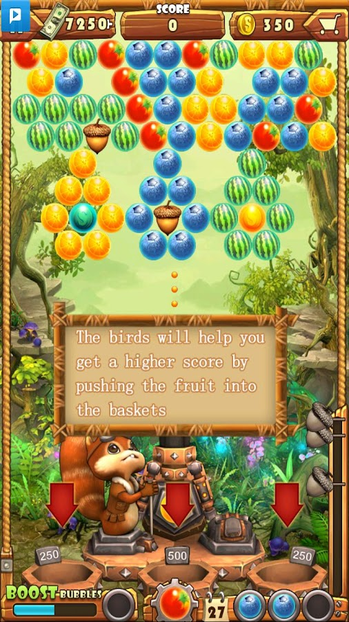 Acorn Buster - screenshot