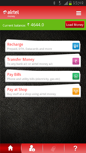 Pay Bills Recharge Transfer