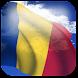 3D Romania Flag