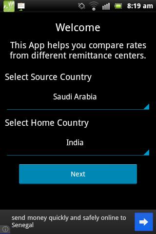 Gulf Remittance App