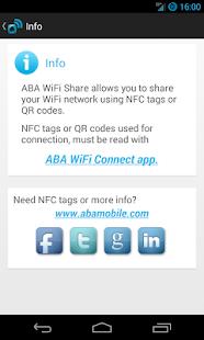 ABA WiFi Share - screenshot thumbnail