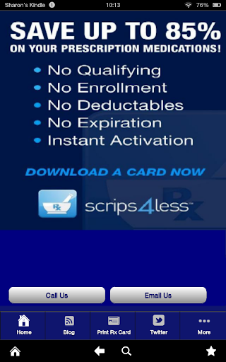 Scrips4Less Rx Savings Card
