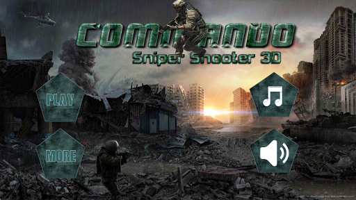 Commando Shooter 3D : Sniper