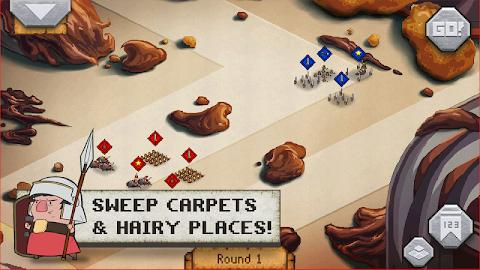 Romans In My Carpet! Screenshot 3