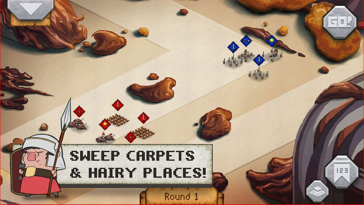 Romans In My Carpet! - screenshot