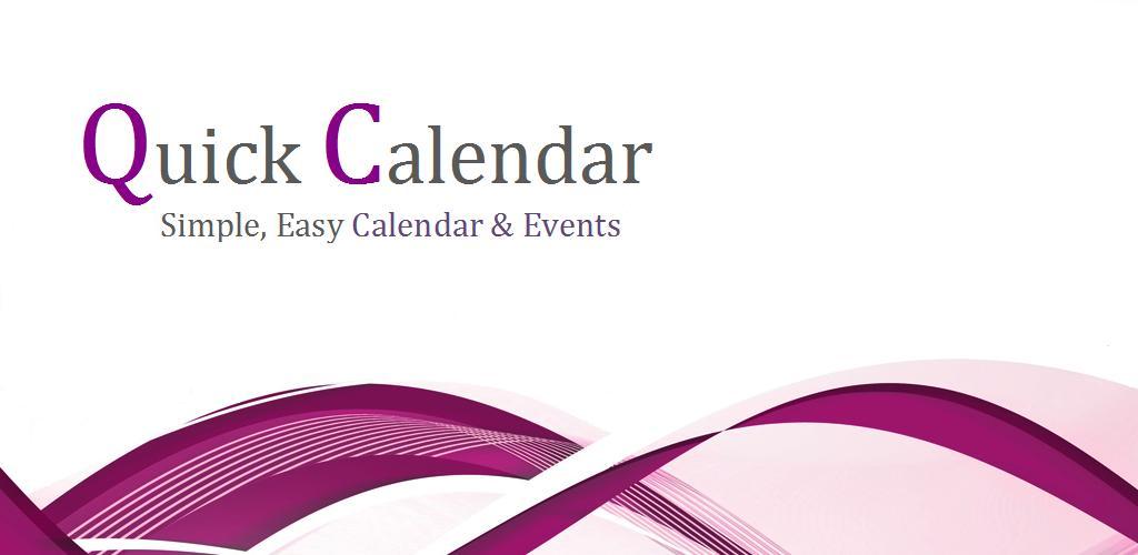 Quick Calendar 1 2 Apk Download - com noetic generated APK free