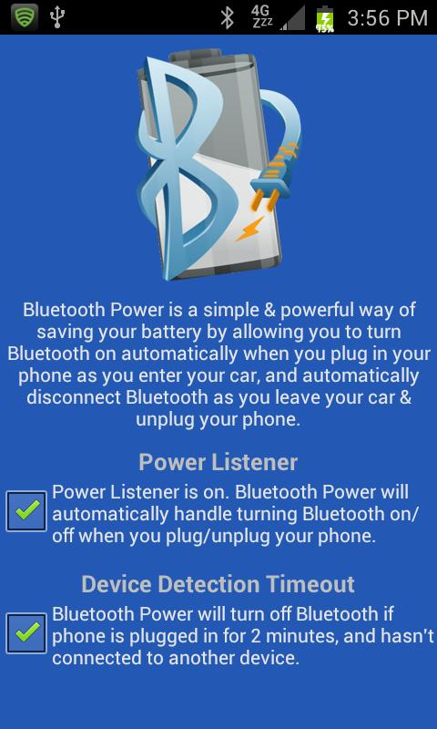 Bluetooth Power- screenshot