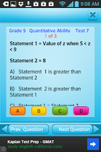 Free Grade 5 Math English 5th- screenshot thumbnail