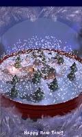 Screenshot of New Years 3D Snow Globe!