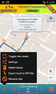 Track My Locations- screenshot thumbnail