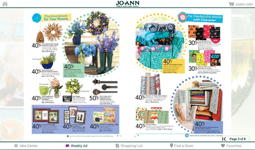 Jo-Ann Inspire for Tablets - screenshot