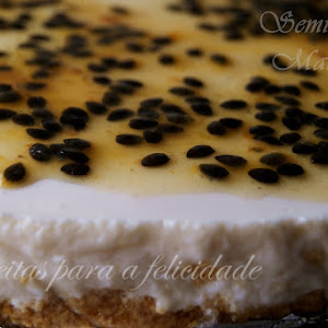 Chilled Passion Fruit Tart