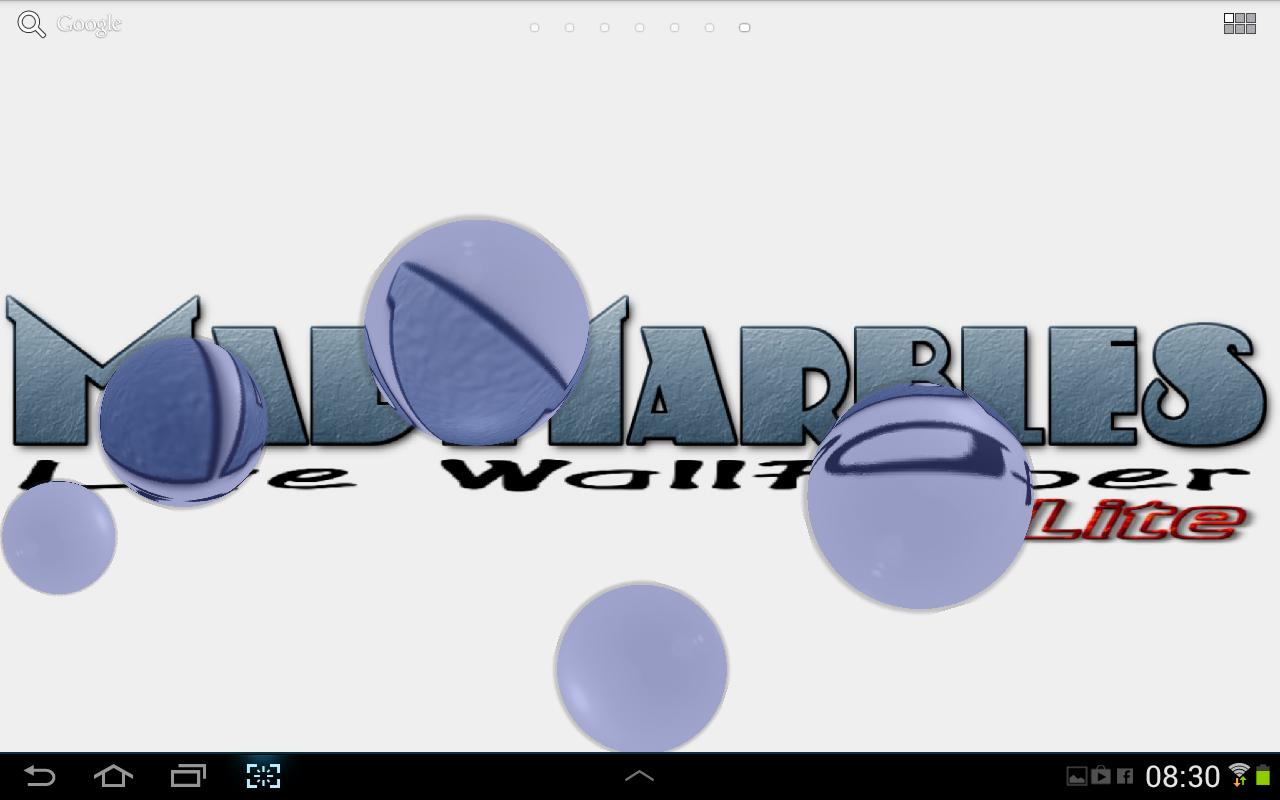 Mad Marbles Lite LWP- screenshot