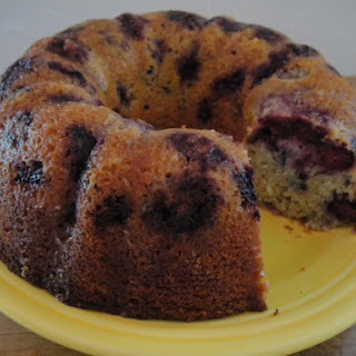 Bill Yosses' Blackberry Buttermilk Bundt with Orange Glaze