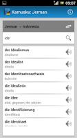 Screenshot of Kamusku: Jerman (Indonesia)