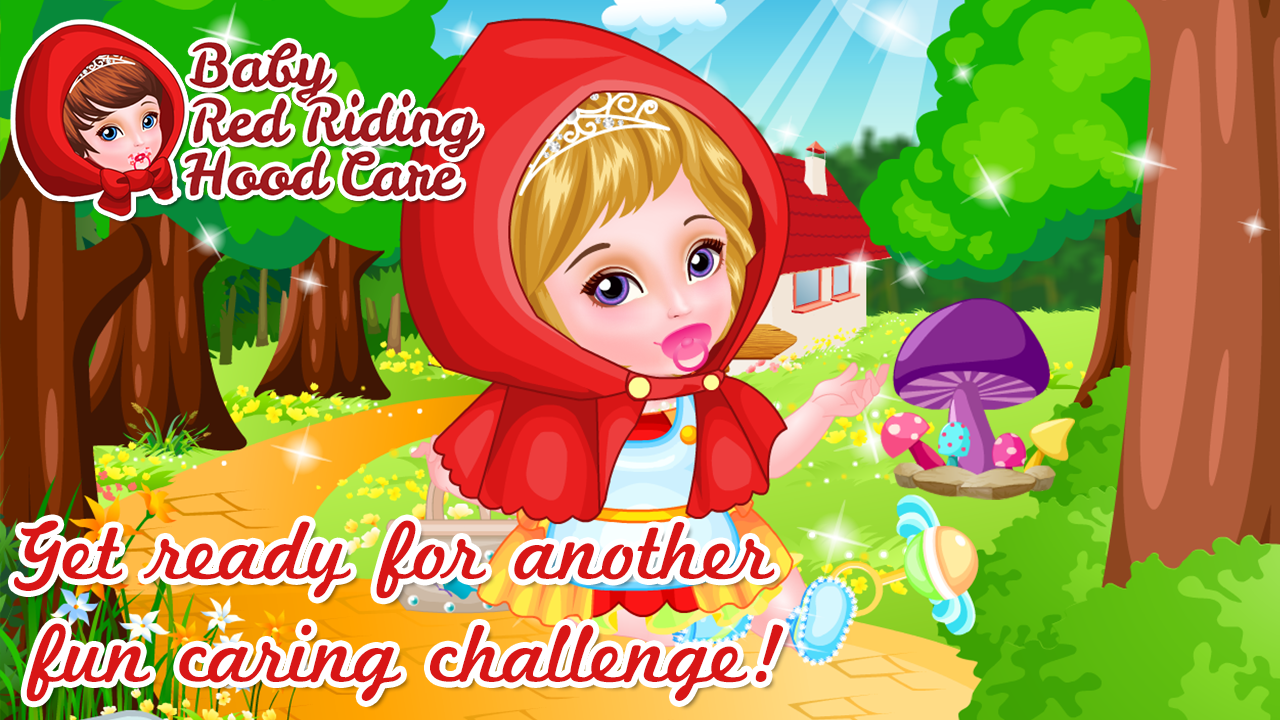 Baby Red Riding Hood Care- screenshot
