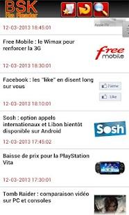 BSK RSS Reader Pro - Lite - screenshot thumbnail