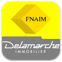 Delamarche Immobilier logo