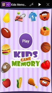 Memory Match Game for Kids HD - screenshot thumbnail