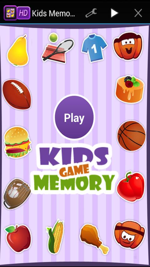 Memory Match Game for Kids HD - screenshot