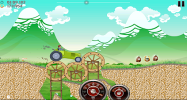 Screenshot of Farm Tractor Racing