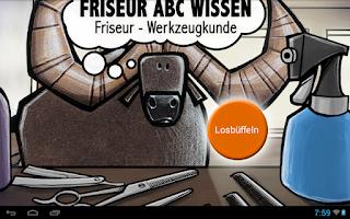 Screenshot of Werkzeugkunde
