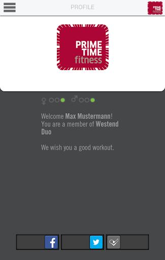 PRIME TIME fitness App