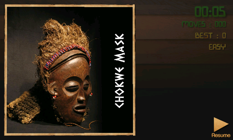 PuzzBox Africa Picture Puzzle- screenshot