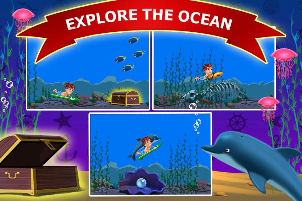 Banzai Surfer - screenshot