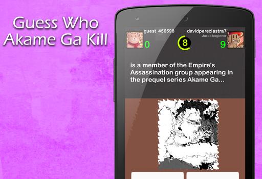 Guess Who Akame Ga Kill