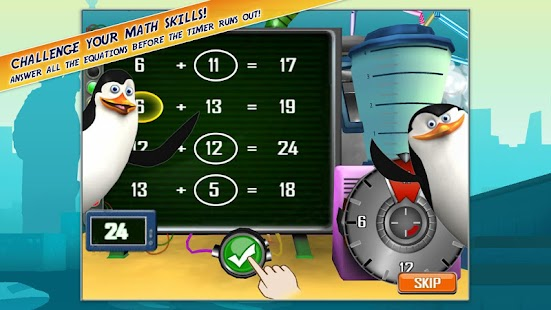 Madagascar Math Ops Free - screenshot thumbnail