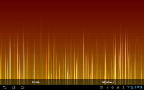 Fading Lines Live Wallpaper - screenshot thumbnail