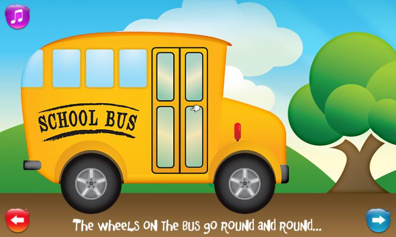 Wheels on the Bus - screenshot