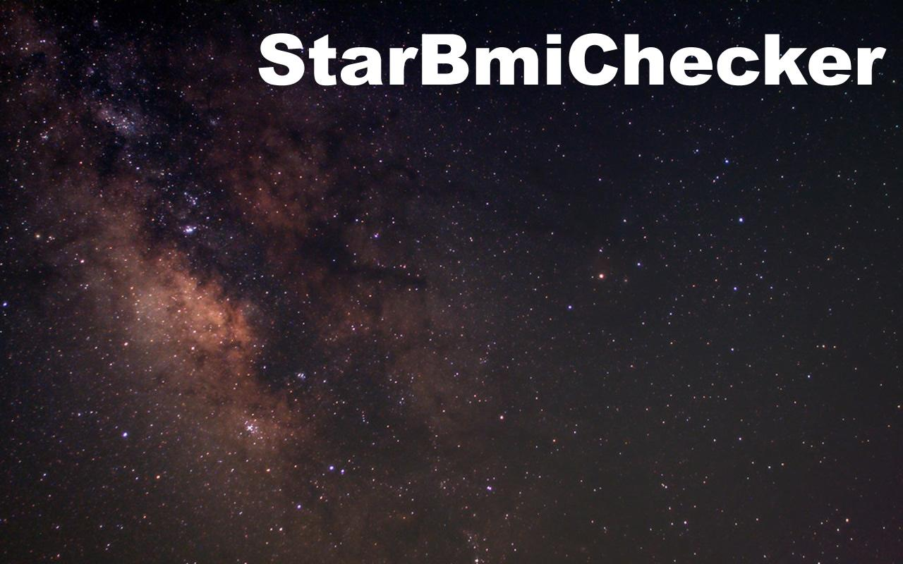 StarBmiChecker - screenshot