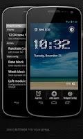 Screenshot of Alarm clock. widget. digital.