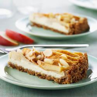 Shreddies Bavarian Apple Cream Cheese Tart
