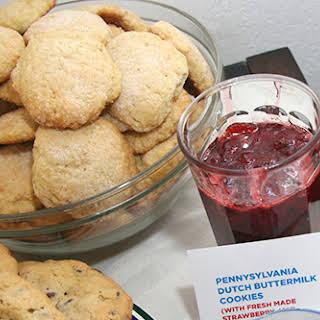 Pennsylvania Dutch Soft Sugar Cookies.